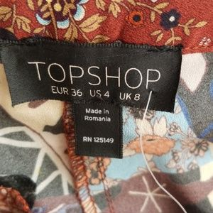 Topshop Shorts - NWT TopShop Nordstrom Multicolored Shorts Size 4